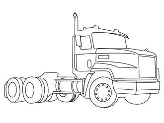 Coloriages camions et voitures - Camion a colorier gratuit ...