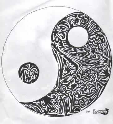 activite manuelle ying yang