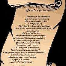 Mon papa papounet - Lecture - POEMES pour enfants - Les poésies des membres de Jedessine - Pour les papas et les mamans