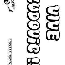 Ludovic - Coloriage - Coloriage PRENOMS - Coloriage PRENOMS LETTRE L