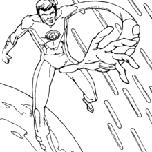Coloriage : Red Richards