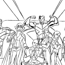 Coloriages Super Heros Fr Hellokids Com