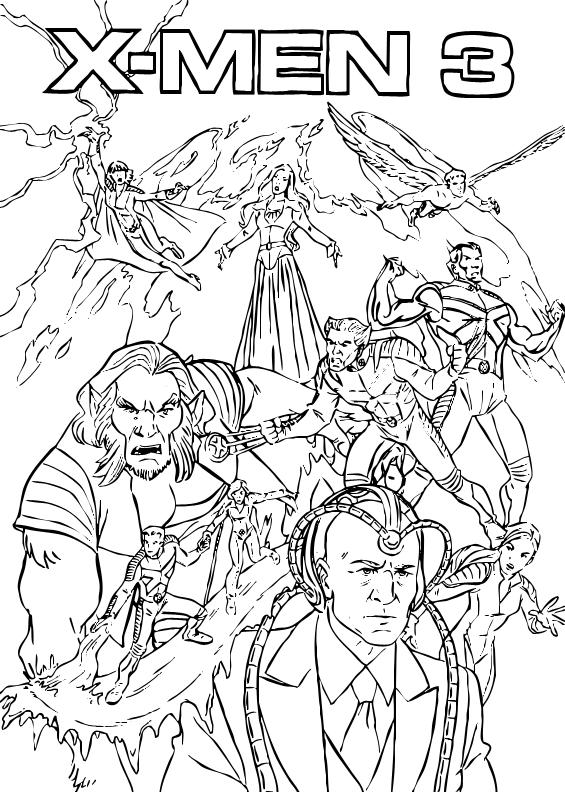 Beast  xmen coloring pages  Hellokidscom