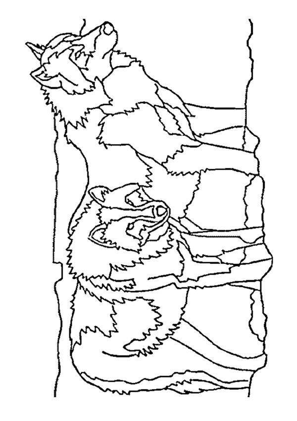 Pin dessin chien traineau froblog on pinterest - Coloriage de traineau ...