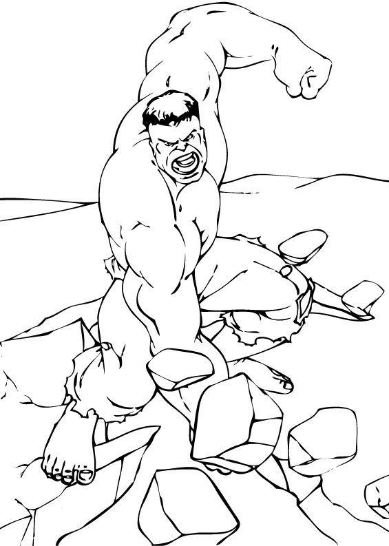 Coloriage De Hulk Coloriages Coloriage à Imprimer Gratuit Fr