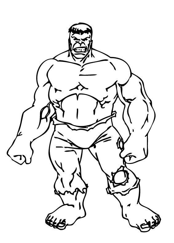 Coloriage De Hulk Coloriages Coloriage à Imprimer