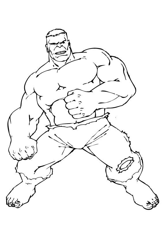 Coloriages coloriage de hulk - Coloriage hulk gratuit ...