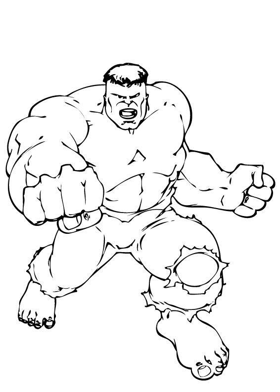 Coloriages coloriage des poings de hulk - Coloriage de hulk ...
