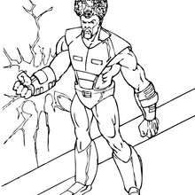 Coloriage du Leader - Coloriage - Coloriage SUPER HEROS - Coloriage de HULK - Coloriages HULK
