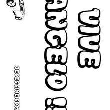 Angelo - Coloriage - Coloriage PRENOMS - Coloriage PRENOMS LETTRE A
