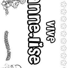 Anne-Lise - Coloriage - Coloriage PRENOMS - Coloriage PRENOMS LETTRE A