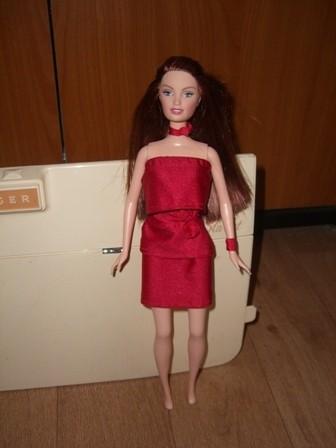Patron robe de soiree barbie