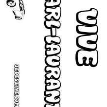 Karl-Laurant - Coloriage - Coloriage PRENOMS - Coloriage PRENOMS LETTRE K