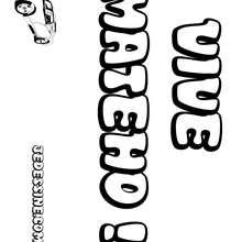 Mateho - Coloriage - Coloriage PRENOMS - Coloriage PRENOMS LETTRE M