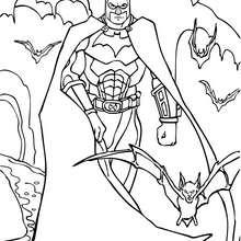 Batman et sa super armure