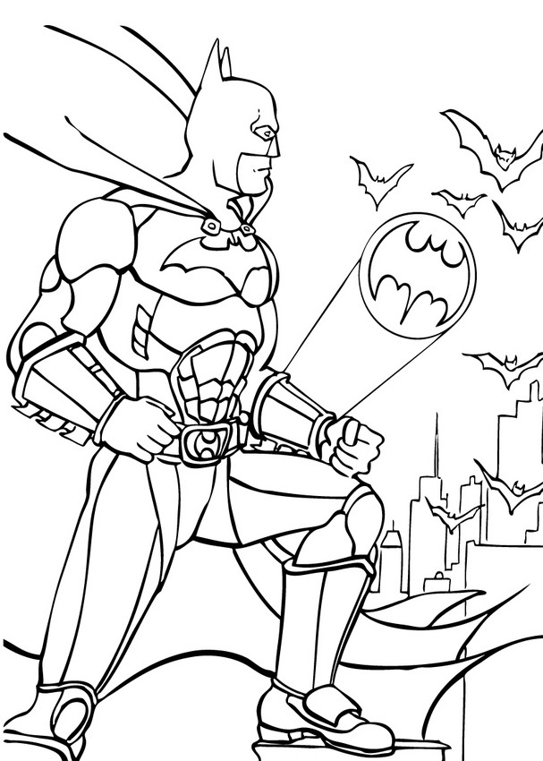 Coloriages coloriage de batman la rescousse - Coloriage batman ...