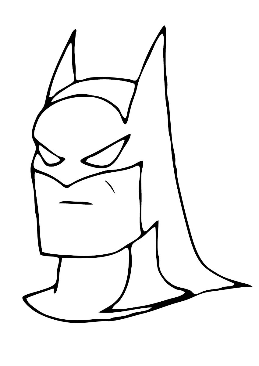 Coloriages le masque de batman - Coloriage a imprimer batman ...
