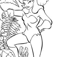 Coloriage : Poison Ivy