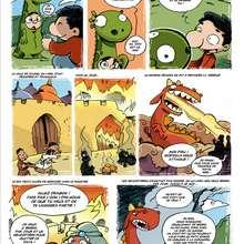 Saint-Georges et le dragon (1) - Lecture - BD pour enfant - Contes à dormir debout (par Ced)