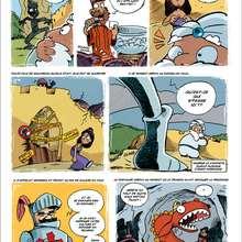Saint-Georges et le dragon (2) - Lecture - BD pour enfant - Contes à dormir debout (par Ced)