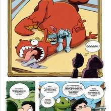 Planche de BD : Saint-Georges et le dragon (3)