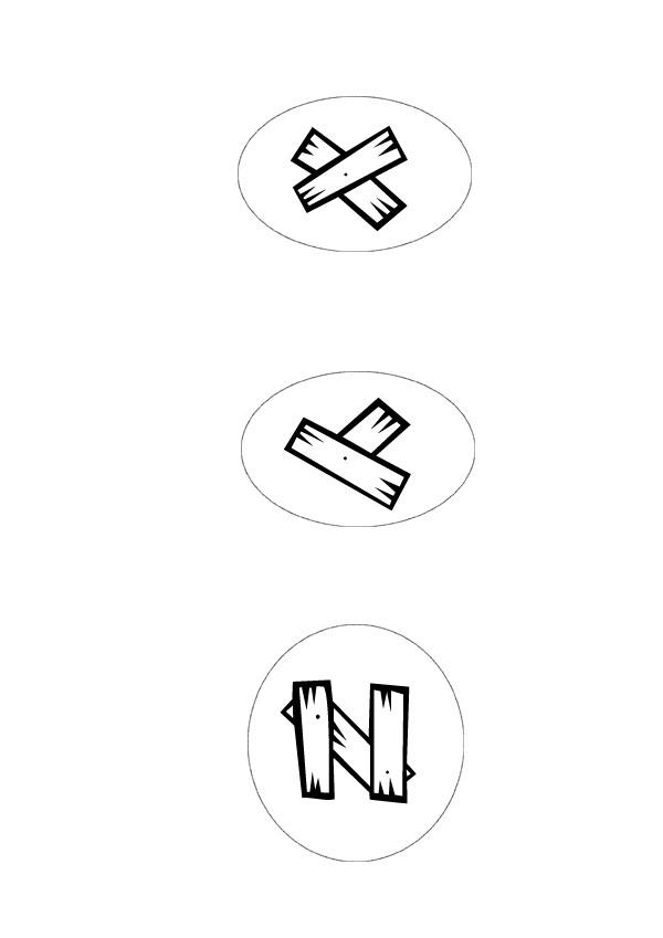 Coloriage : X à Z - Lettres Western