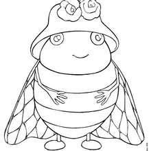 Comment dessiner une cigale - Comment dessiner une fourmi ...