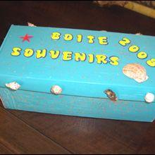 La boîte à souvenirs - Activités - BRICOLAGE ENFANT - Bricolage de vacances
