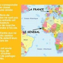 Jedessine parraine une classe au Senegal
