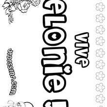 Elonie - Coloriage - Coloriage PRENOMS - Coloriage PRENOMS LETTRE E