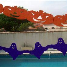 Fiche bricolage: guirlandes d'Halloween