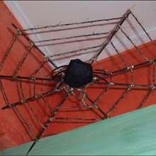 La toile d'araignée - Activités - BRICOLAGE HALLOWEEN - Fiches de décoration pour Halloween