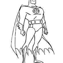 Coloriage en ligne de Batman