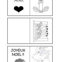 Activité : Etiquettes thème de Noël