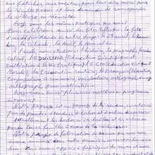 Courrier du 9/04/08 : page 2 - Lecture - REPORTAGES pour enfant - Aide et Action - 3ème vague de correspondance du TOGO