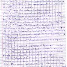 Reportage : Courrier du 9/04/08 : page 2