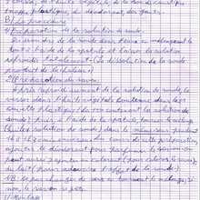 Courrier du 9/04/08 : page 3 - Lecture - REPORTAGES pour enfant - Aide et Action - 3ème vague de correspondance du TOGO
