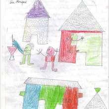 La fête au village - Lecture - REPORTAGES pour enfant - Aide et Action - 3ème vague de correspondance du SENEGAL - Courrier du 12 mars 2008
