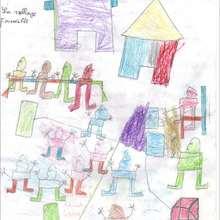 La famille au village - Lecture - REPORTAGES pour enfant - Aide et Action - 3ème vague de correspondance du SENEGAL - Courrier du 12 mars 2008