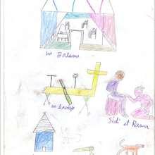 Objets et personnages du quotidien - Lecture - REPORTAGES pour enfant - Aide et Action - 3ème vague de correspondance du SENEGAL - Courrier du 14 mai 2008