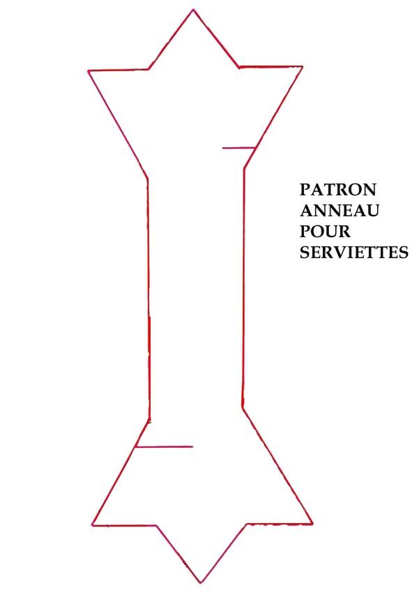 Préférence Activités manuelles patron de l'anneau pour serviettes - fr  XY07