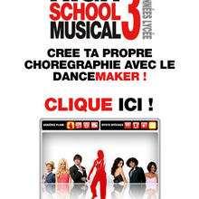Crée ta chorégraphie avec High School Musical 3 - Jeux - Jeux films et dessins animés
