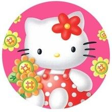 Dessin d'enfant : hello kitty!