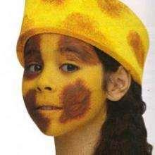 Maquillage de girafe - Activités - MAQUILLAGE ENFANT - Maquillage ANIMAUX - Maquillage enfant LAPIN