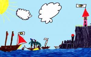 L'île fortifiée