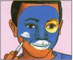 Maquillage d'extraterrestre - Activités - Maquillage