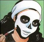Maquillage de squelette - Activités - Maquillage