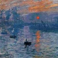 Le peintre Claude Monet