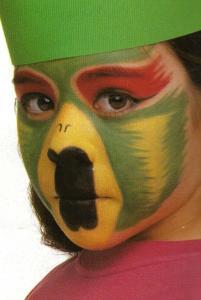Maquillage de perroquet - Activités - Maquillage