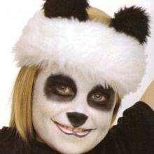 Maquillage de panda - Activités - MAQUILLAGE ENFANT - Maquillage ANIMAUX - Maquillage enfant PANDA
